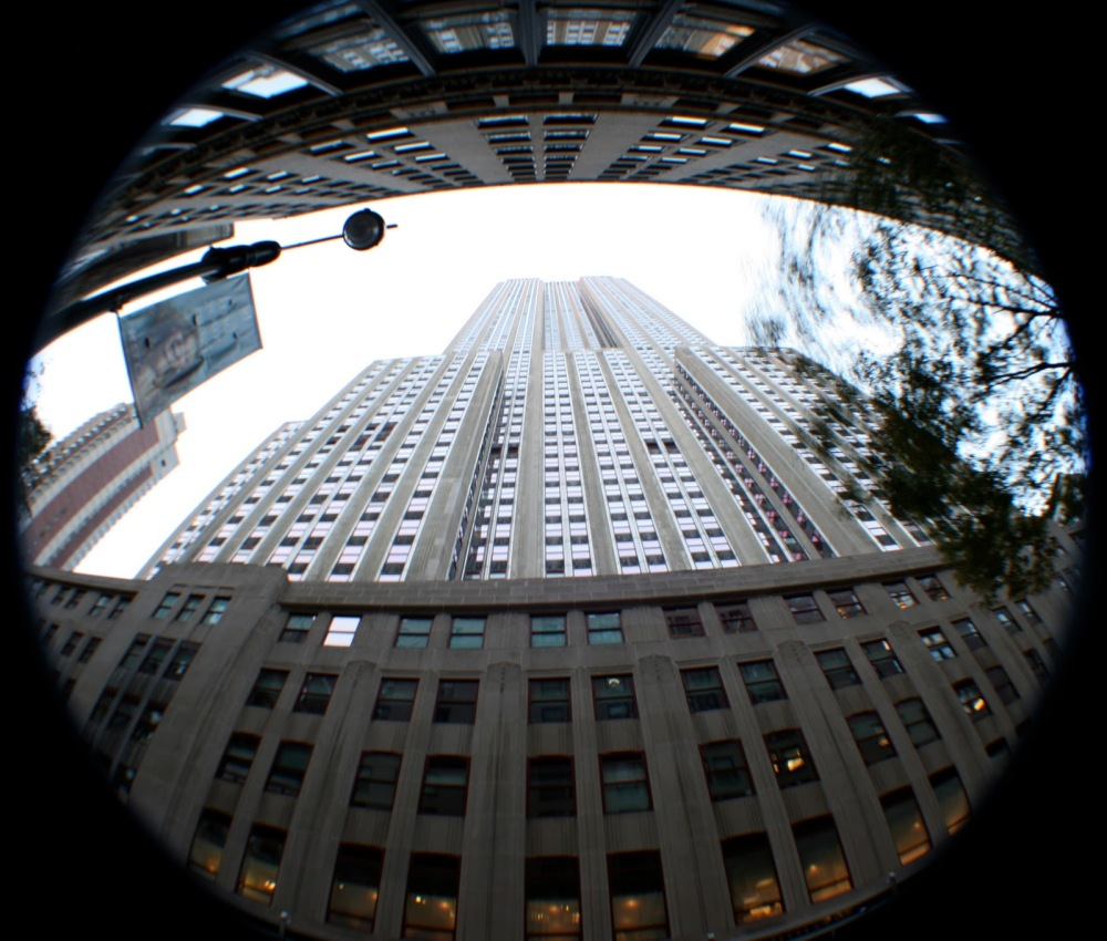 EMPIRE STATE BUILDING EmpireStateBuildingWithFullFisheye_01_160312