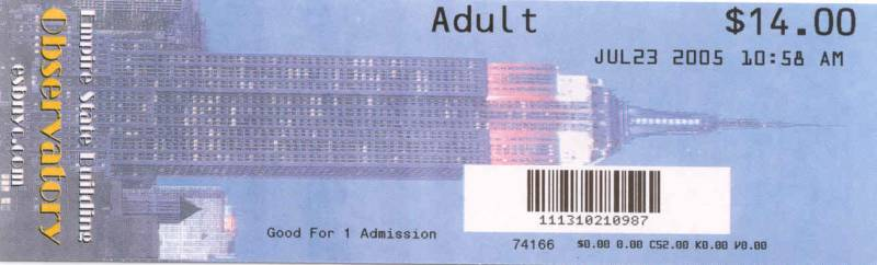 EMPIRE STATE BUILDING TICKET_02_160312