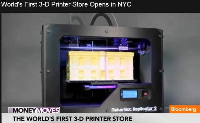 BLOOMBERG PRINTER 3D FIRST STORE 01 280912