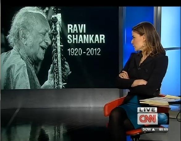 CNN RAVI SHANKAR HOT HALLA 01 121212