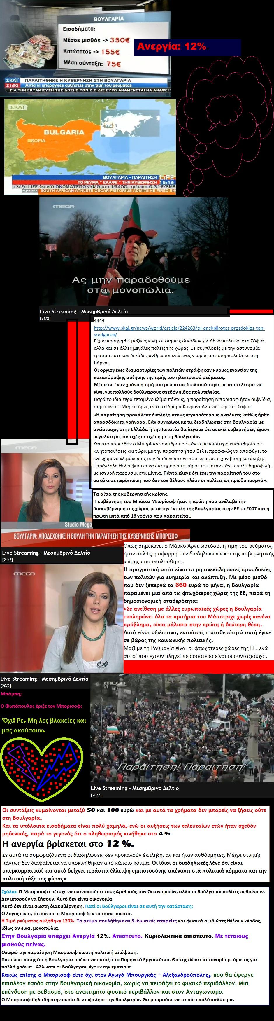 BULGARIA ECONOMY MISTHOI 01 02 210213