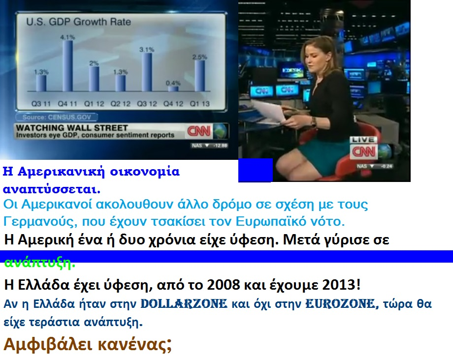 Hala Gorani and GDP Growth