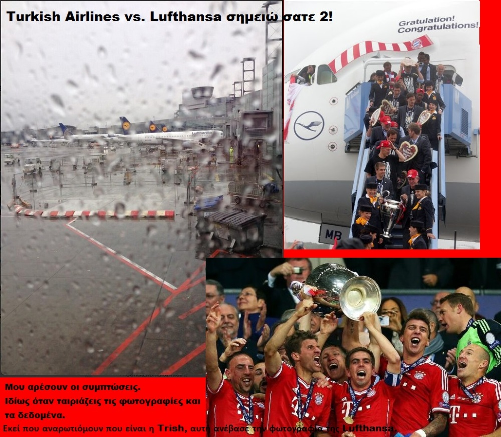 FOOTBALL CHAMPION LEAGUE BAYERN LUFTHANSA TRISH 01 01 260513