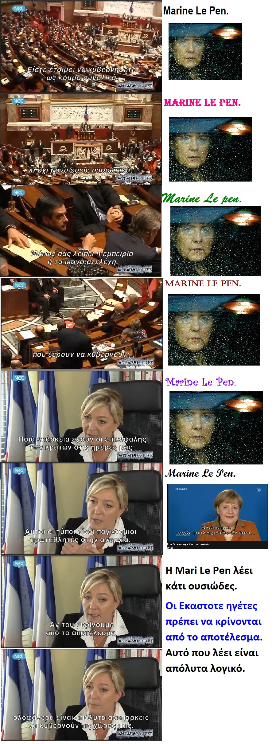 Mari Le Pen