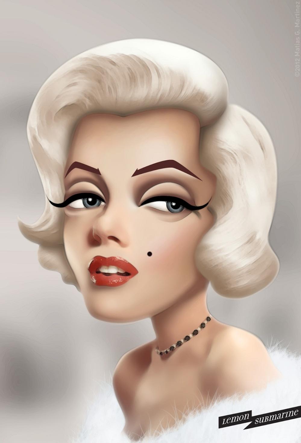 Marilyn Monroe by Matias G. Martinez LEMONSUBMARINE 01 170713