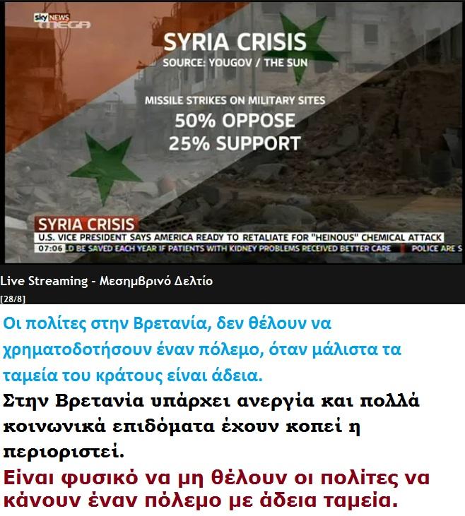 SYRIA BRITAIN GALOP 01 280813