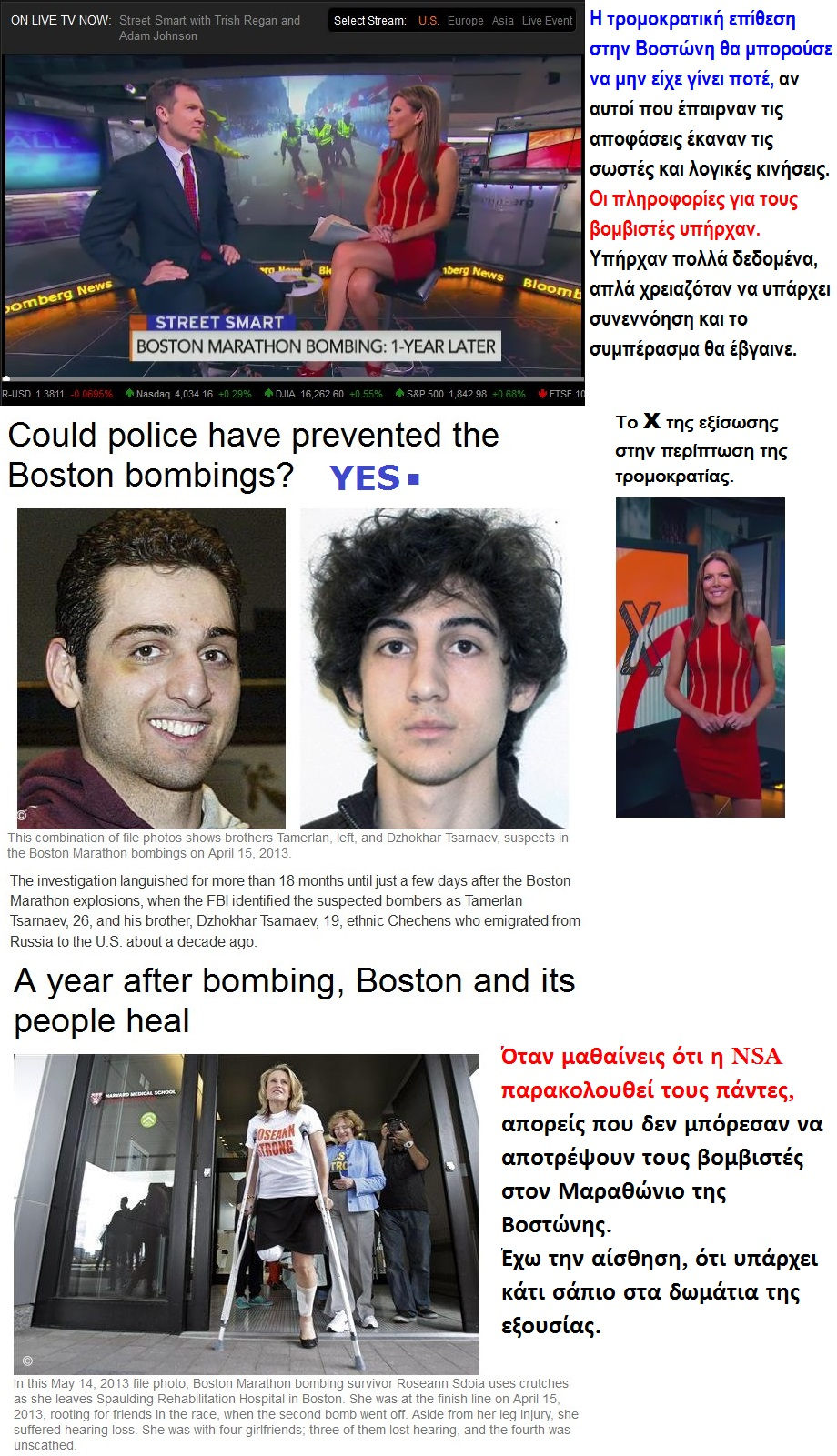 BOSTON MARATHON BOMBING 1 YEAR LATER 01 170414