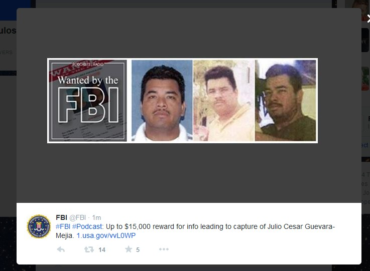 USA FBI JULIO CESAR GUEVARA MEJIA 01 201114