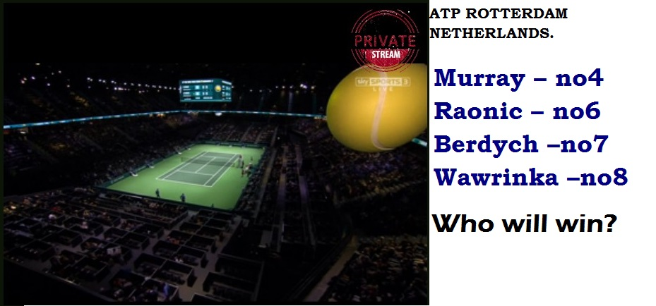 TENNIS ROTTERDAM NETHERLANDS MURRAY WAWRINKA 01 120215 (1)