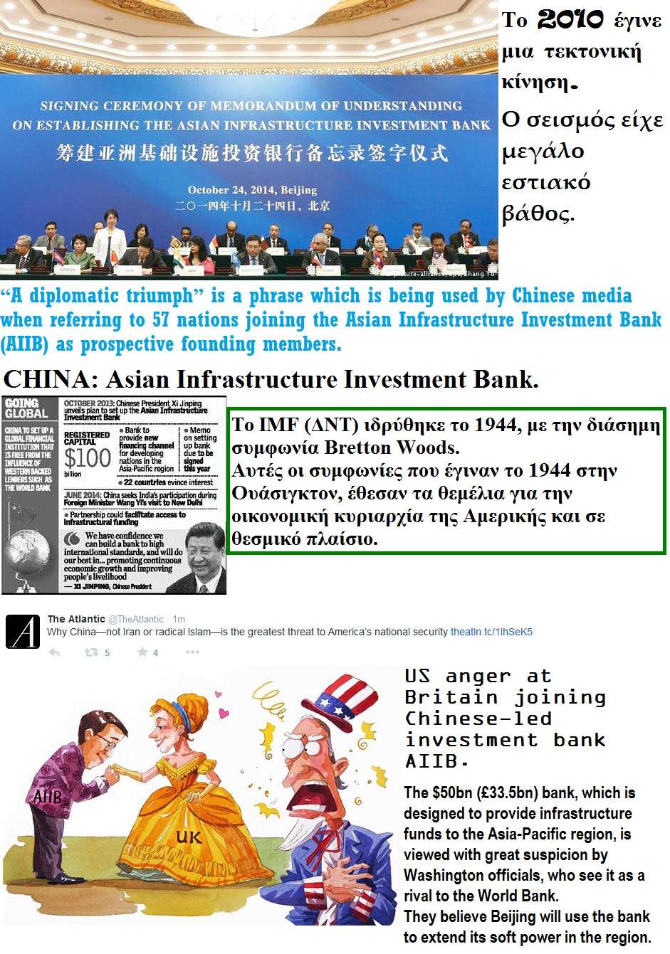 CHINA AIIB Asian Infrastructure Investment Bank usa britain 05 220615