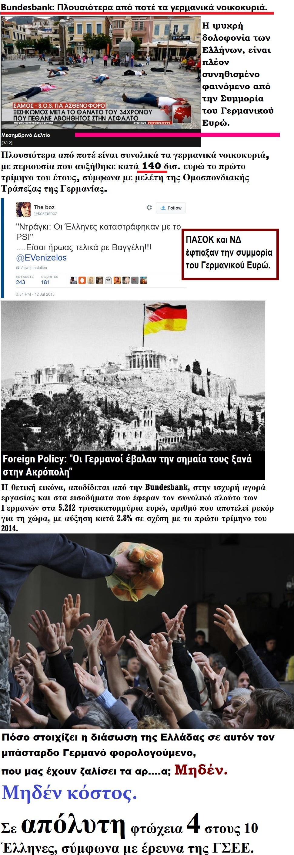 ELLADA GERMANY BUNDESBANK FOOD FTOXIA POORE DIANOMH TROFIMON GSEE 01 290715