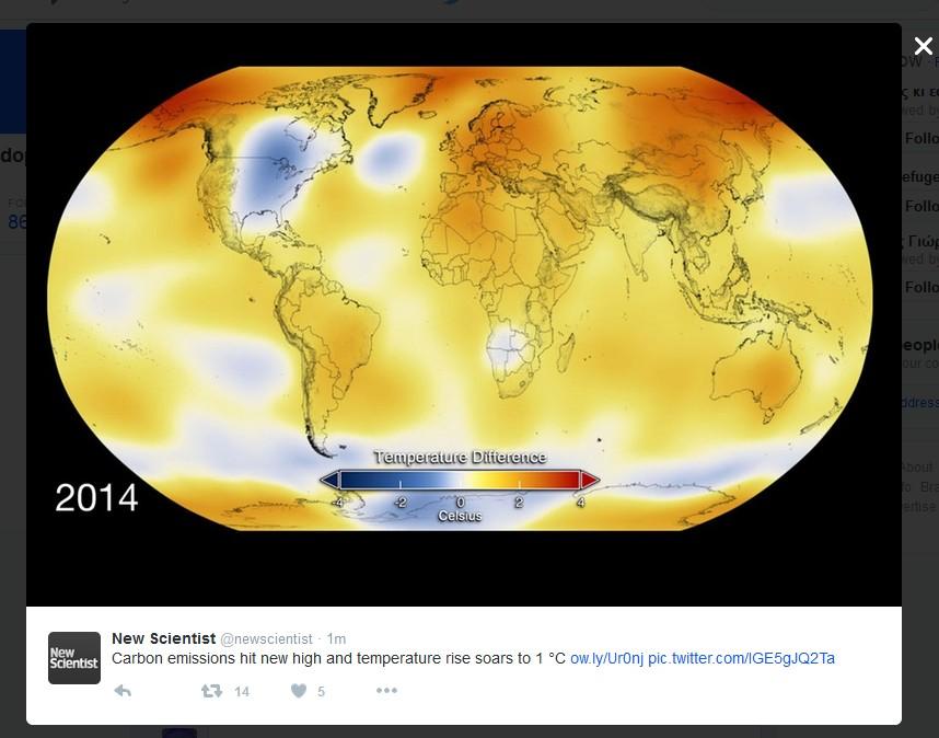 CLIMATE CHANGE CARBON EMISSIONS 2014 01 091115