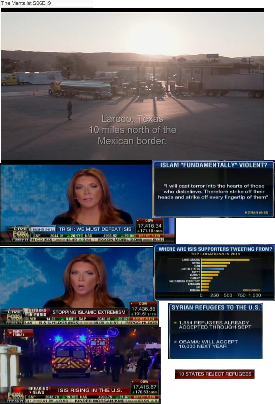 FOX BUSINESS FRANCE PARIS TERRORIST ATTACK USA ISIS 01 161115