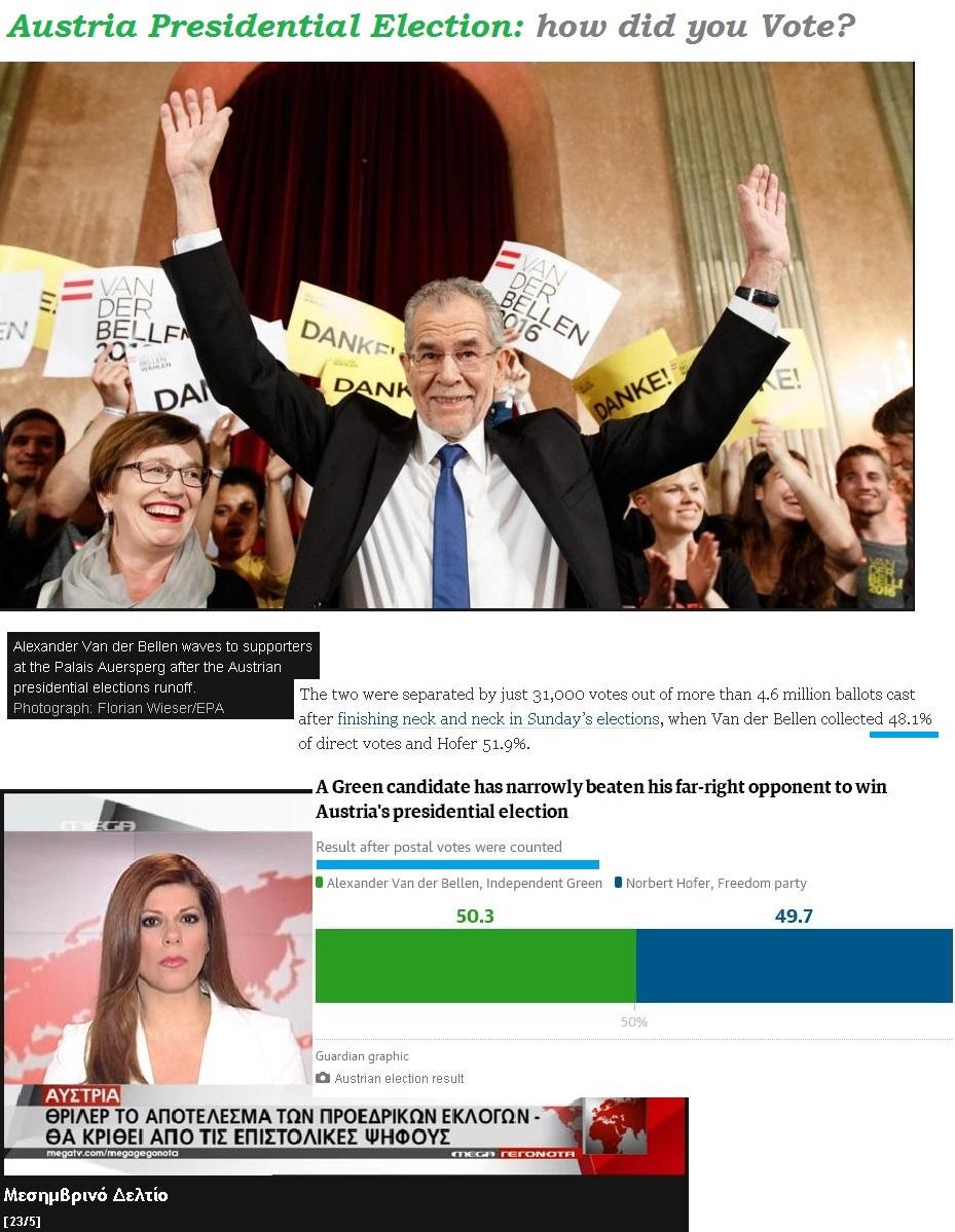 AUSTRIA PRESIDENTIAL ELECTION 01 240516