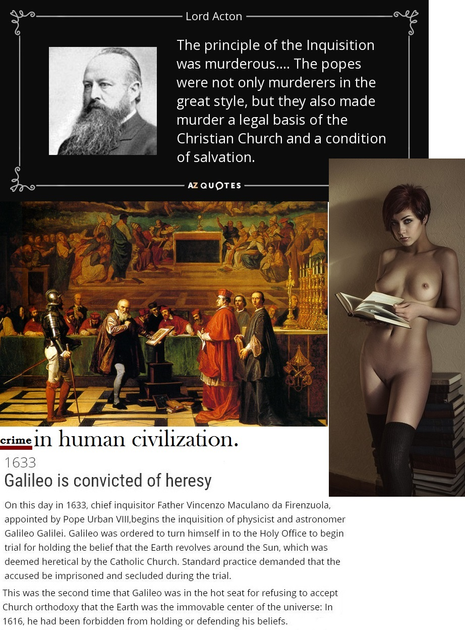 SCIENCE GALLILEO GALLILEI INQUISITION 02 300516