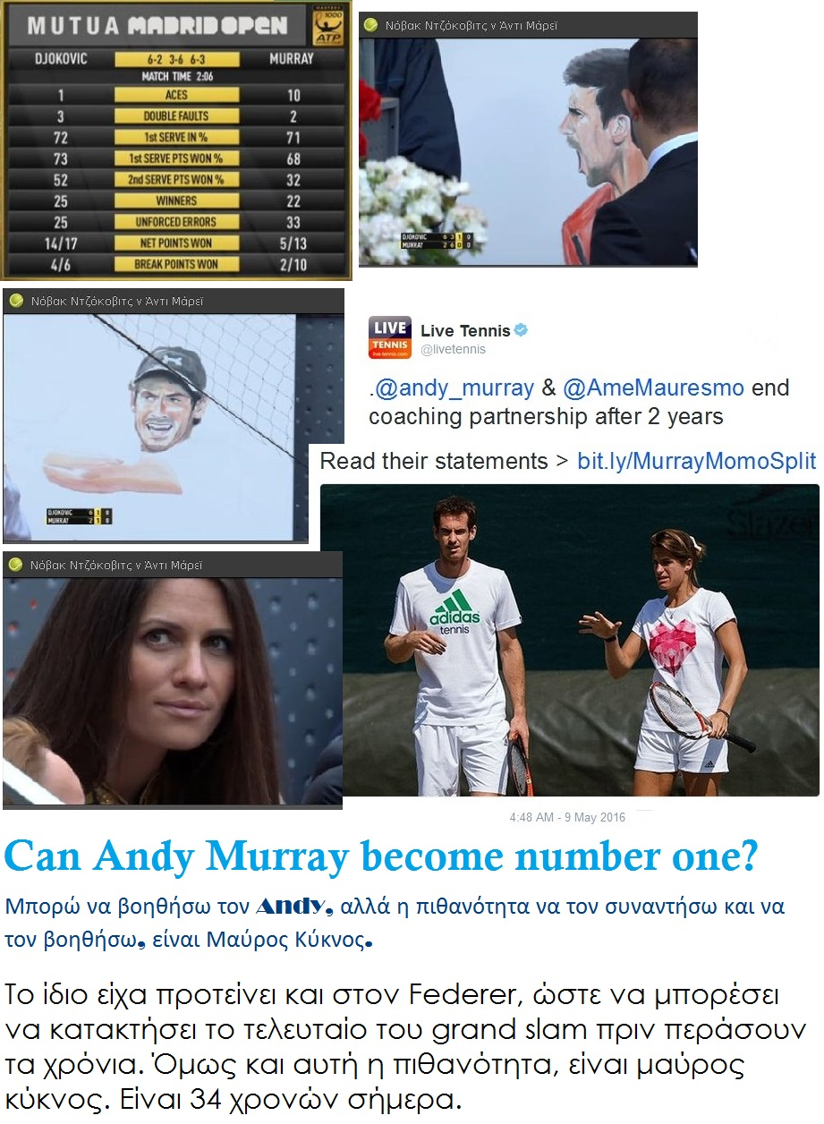 TENNIS ANDY MURRAY MAURESMO 01 120516