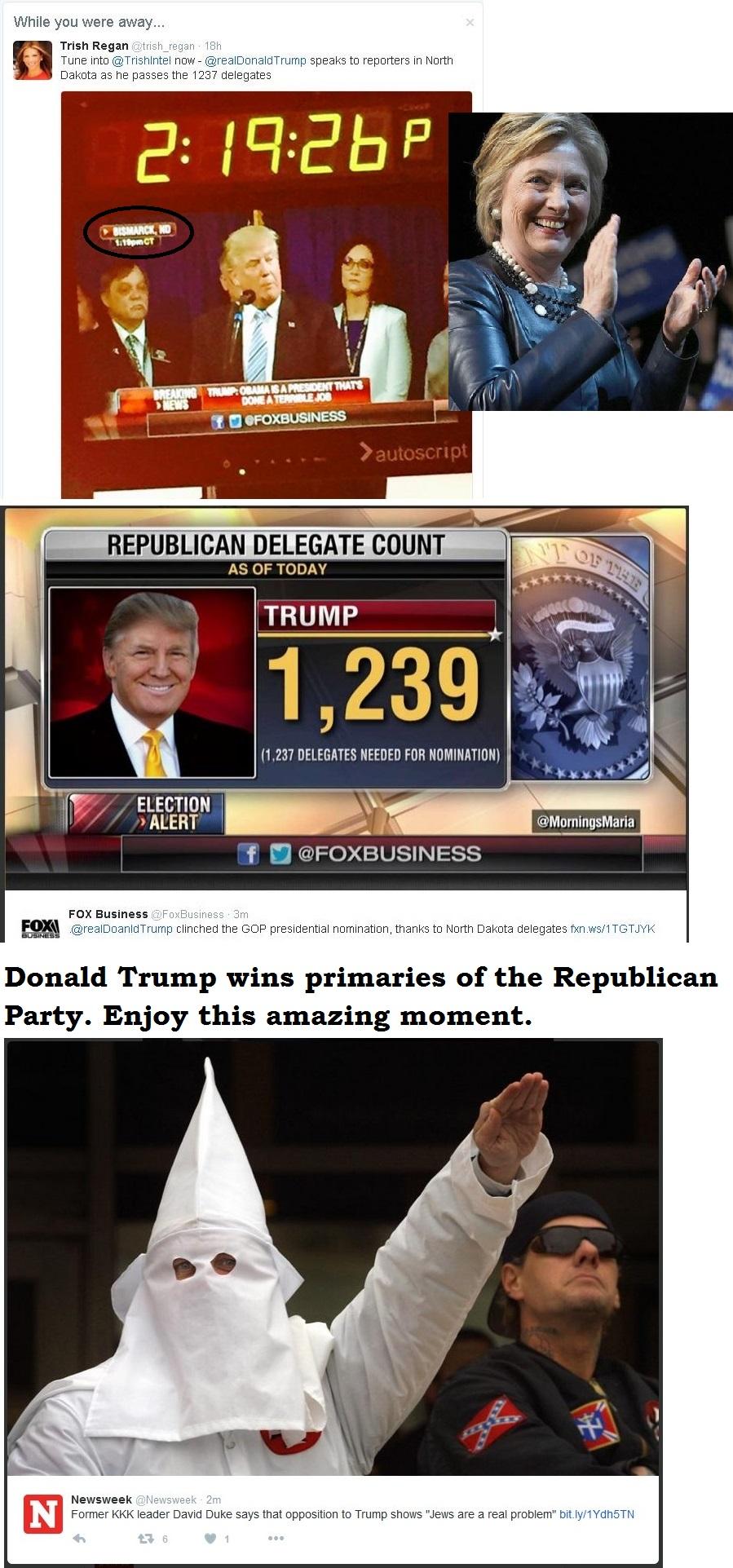 USA ELECTION PRIMARIES REPUBLICAN DELEGATES TRUMP WINS 01 290516