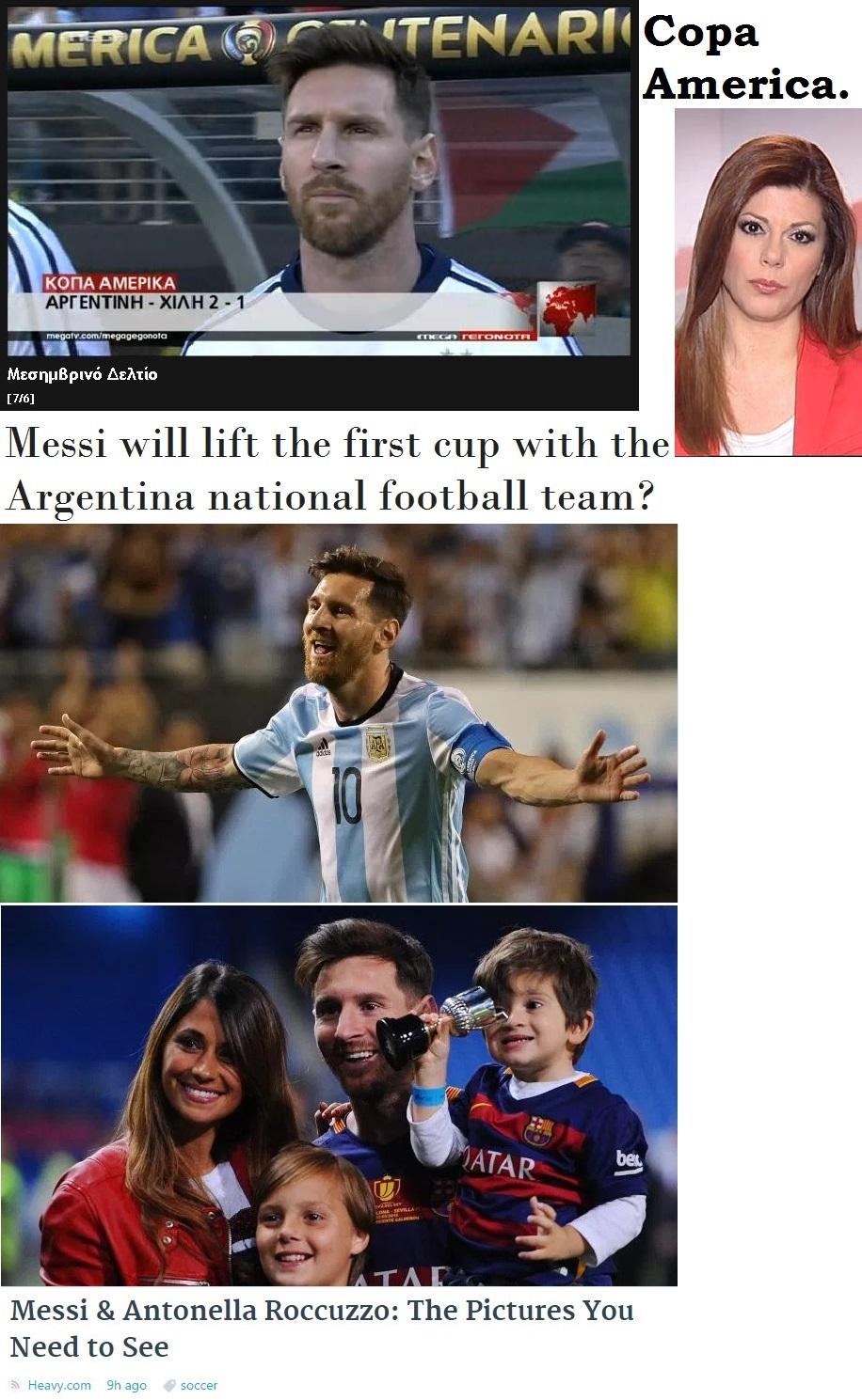 FOOTBALL COPA AMERICA ARGENTINA MESSI FINAL 01 230616