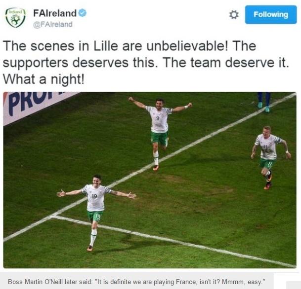 FOOTBALL EURO2016 IRELAND 01 240616