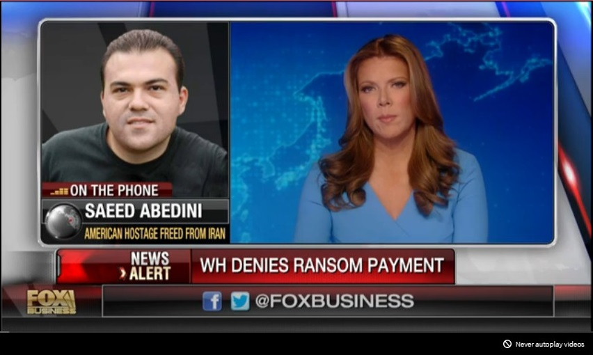 FOXBUSINESS USA SAEED ABEDINI HOSTAGE IRAN 01 050816 (2)