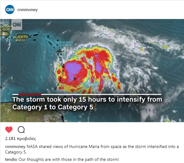 The storm took only 15 hours to intensify from Category 1 to Category 5. b5ca0a8ec6f
