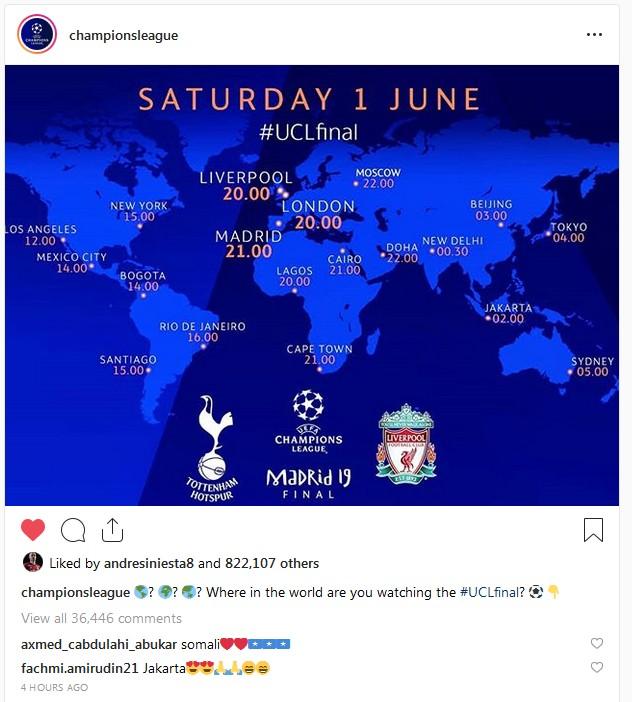 f7b09ed2c2 Football  Champions League  Tottenham Vs Liverpool  The Last Battle